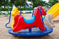 Colorful of playground Stock Photography