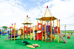 Colorful Playground Stock Photography