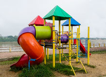 Colorful of playground Royalty Free Stock Photography