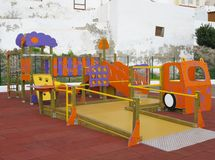 A colorful playground for children Stock Image