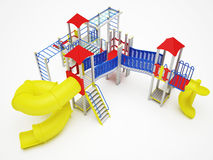 Colorful playground for children Stock Photography