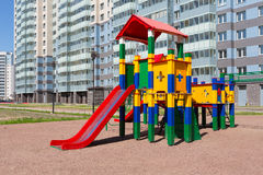 Colorful playground Stock Photo