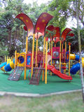 COLORFUL PLAYGROUND FOR CHILDRENS. Royalty Free Stock Image