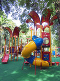 COLORFUL PLAYGROUND FOR CHILDRENS. Stock Image