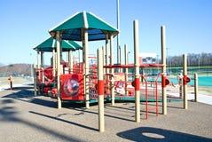 Colorful Playground Equipment stock photos