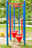 Colorful playground equipment Stock Photography