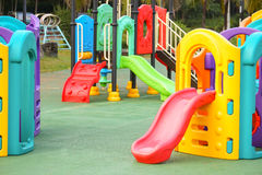 Colorful playground for kids Stock Image