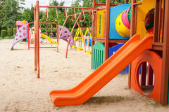 Colorful playground for kids Royalty Free Stock Image