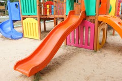 Colorful playground for kids Royalty Free Stock Images