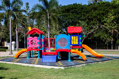 Colorful playground outdoor park Stock Photography