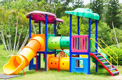 Colorful Playground Royalty Free Stock Photography