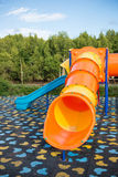 Colorful playground in the park Royalty Free Stock Images