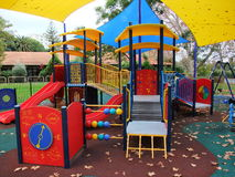A colorful playground Royalty Free Stock Images