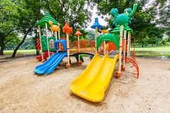 Colorful playground Stock Images