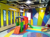 Colorful playroom Royalty Free Stock Photo