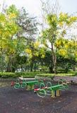 The colorful plaything in Benjasiri Park, Bangkok. Thailand Stock Photography