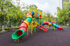 The colorful plaything in Benjasiri Park, Bangkok, Thailand Stock Photo