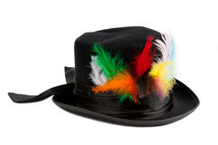Colorful poker hat Royalty Free Stock Photos