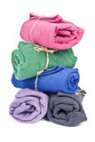 Colorful Polar Fleece Royalty Free Stock Image