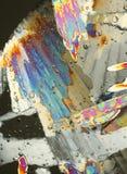 Colorful polarized ice Stock Images