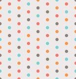Colorful polka dots Royalty Free Stock Photography