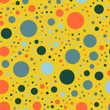 Colorful polka dots seamless pattern on bright 26. Colorful polka dots seamless pattern on bright 26 background. Dazzling classic colorful polka dots textile vector illustration
