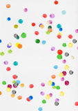 Colorful polka dots Stock Photos