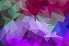Colorful polygon Abstract background Royalty Free Stock Photos
