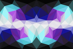 Colorful polygon Abstract background Royalty Free Stock Photo