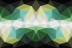 Colorful polygon Abstract background Stock Photography