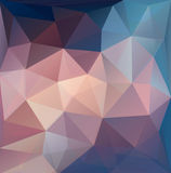 Colorful Polygon abstract background. Stock Image