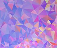 Colorful Polygon Background Stock Photography