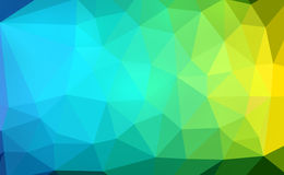 Colorful polygon Royalty Free Stock Photos