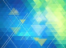 Colorful polygonal abstract background Stock Photo