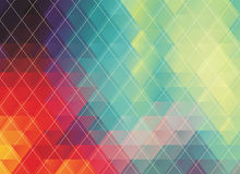 Colorful polygonal abstract background Royalty Free Stock Photos