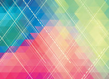 Colorful polygonal abstract background Royalty Free Stock Photo