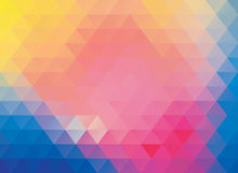 Colorful polygonal abstract background Royalty Free Stock Image
