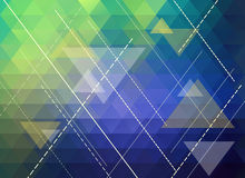Colorful polygonal abstract background Stock Photography