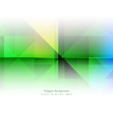 Colorful polygonal shape background Stock Images
