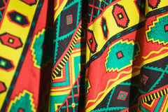 Colorful Poncho Royalty Free Stock Photography