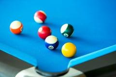 Colorful pool balls Royalty Free Stock Photos