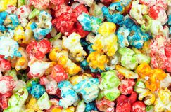 Colorful popcorn Royalty Free Stock Images