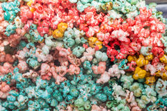 Colorful Popcorn Royalty Free Stock Photos