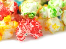 Colorful popcorn Stock Photos