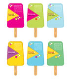 Colorful Popsicle Stick. Stock Photography