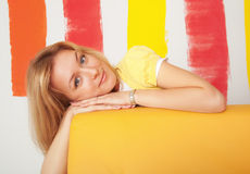 Colorful portrait Royalty Free Stock Images