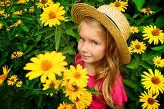 Colorful portrait Stock Image