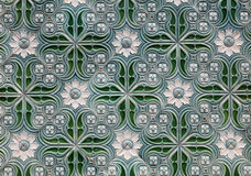 Colorful Portuguese mosaic Stock Photo