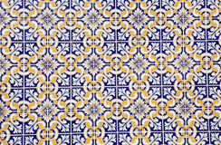 Colorful portuguese mosaic Royalty Free Stock Photography