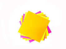 Colorful post it note Stock Photography